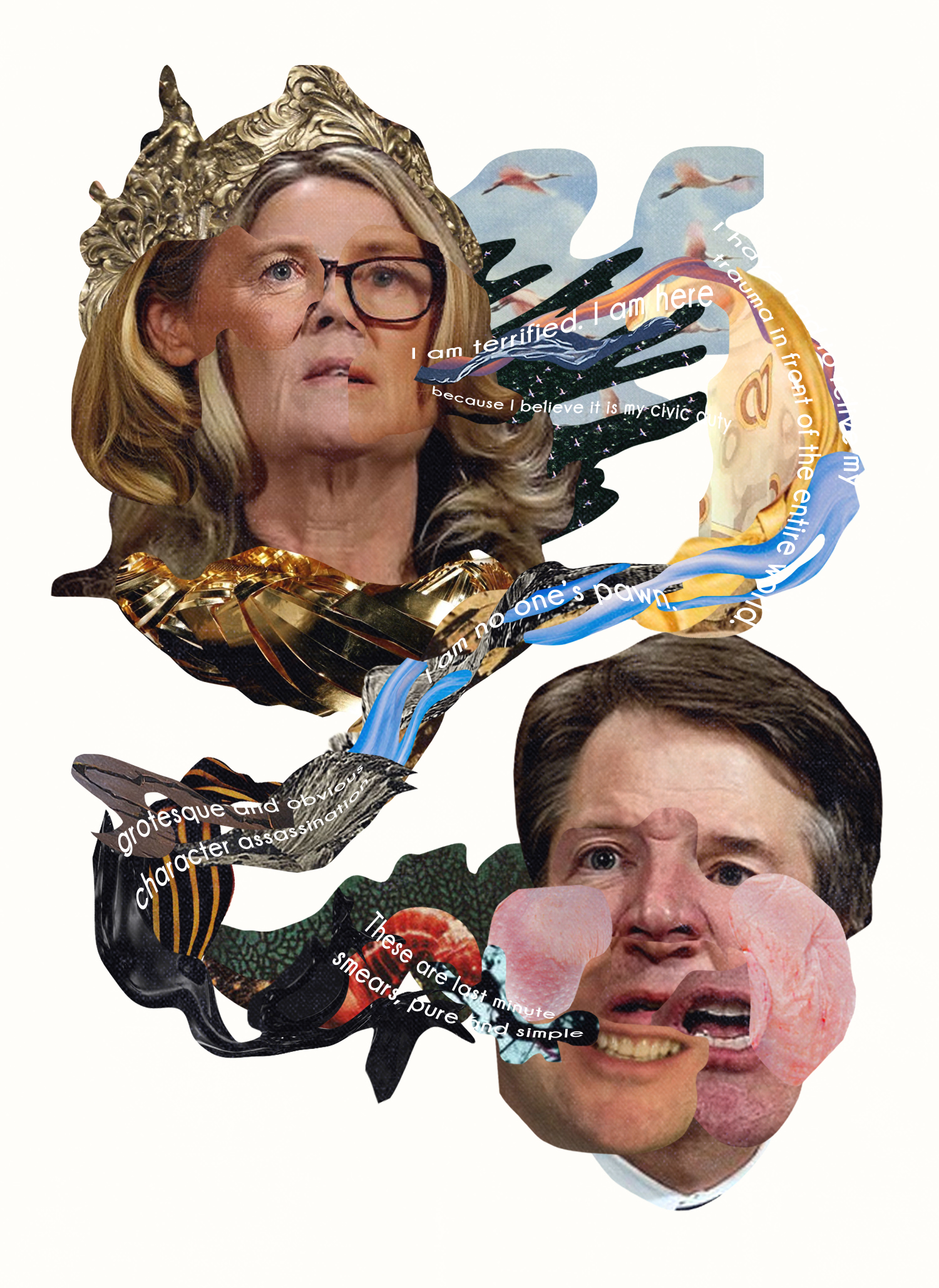 YEOJA Mag - Brett Kavanaugh - Written by Sarah Kearns, Artwork by Katia Engell