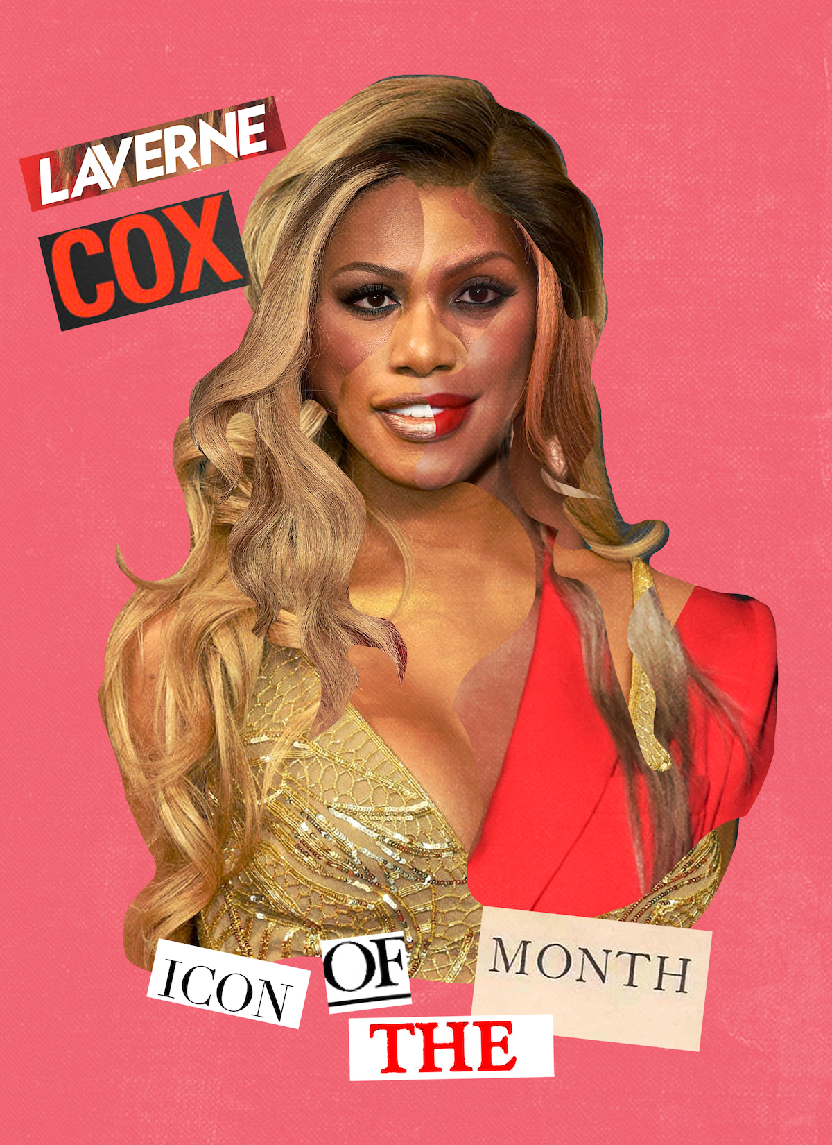 YEOJA Mag - Laverne Cox - Written by Rae Tilly, Illustration by Katia Engell