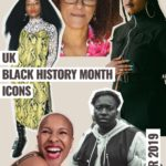 YEOJA Mag - UK Black History Month - UK Black History Month Icons 2019 - Written by Candice Nembhard , Artwork by Rae Tilly