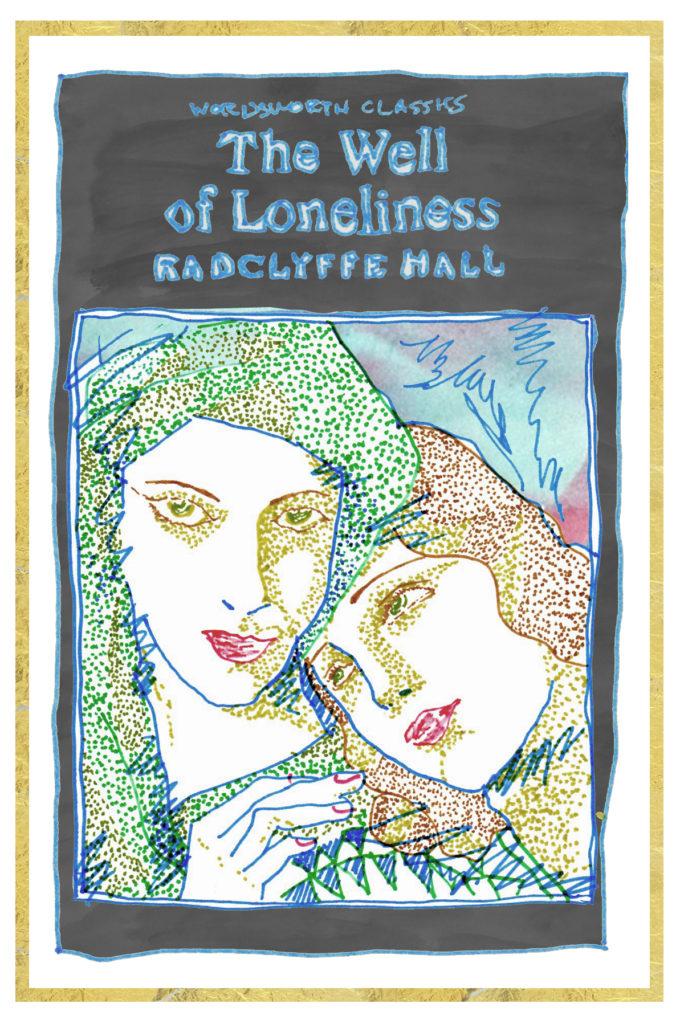 Radclyffe Hall - artwork by Kiki