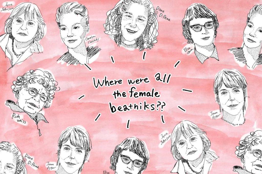 Where Were All The Female Beatniks? Written by Betti Hunter, Illustrations by Kiki Saito