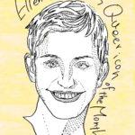 YEOJA Mag - Ellen Degeneres - Written by Rae Tilly, Illustration by Kiki Saito